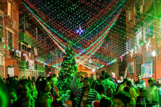 christmas in Kolkata InMarathi